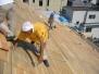 本堂屋根葺き替え